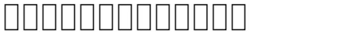 MODERN 0000 Font LOWERCASE