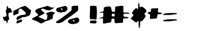 MODERN Hand Fraktur Font OTHER CHARS