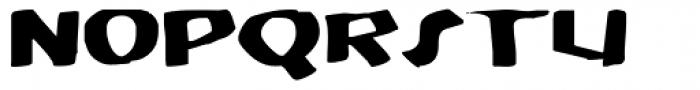 MODERN Hand Fraktur Font UPPERCASE
