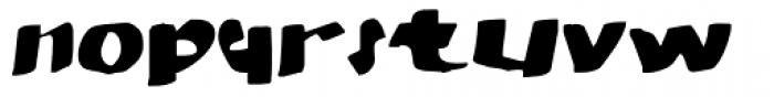 MODERN Hand Fraktur Font LOWERCASE