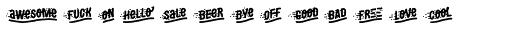 MOVSKATE Crew Font UPPERCASE