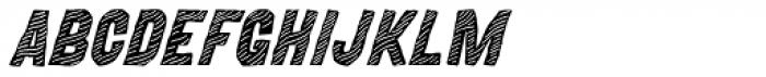 MOVSKATE Deck Italic Font UPPERCASE