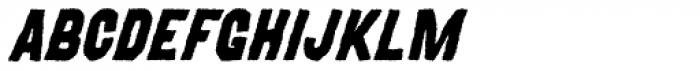 MOVSKATE Grip Italic Font UPPERCASE