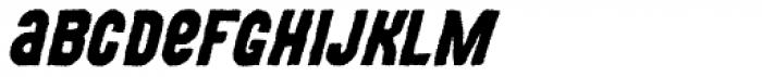 MOVSKATE Grip Italic Font LOWERCASE