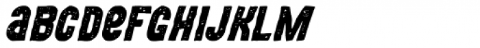 MOVSKATE Hardgrip Italic Font LOWERCASE