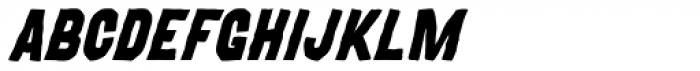 MOVSKATE Skate Italic Font UPPERCASE