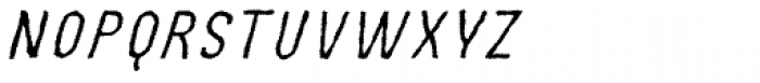 MOVSKATE Slide Italic Font LOWERCASE