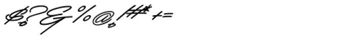 Mocha Script Font OTHER CHARS