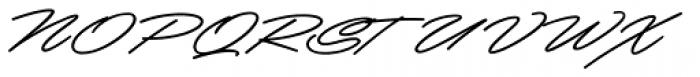 Mocha Script Font UPPERCASE