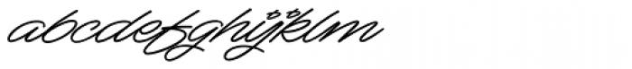 Mocha Script Font LOWERCASE