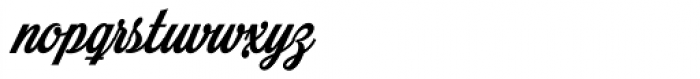 Mochary Font LOWERCASE