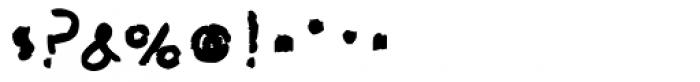 Mock Chalk Font OTHER CHARS