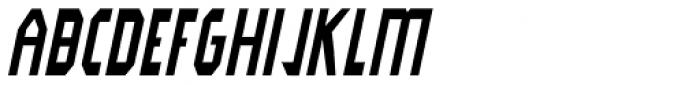 Modality Antiqua Bold Oblique Font UPPERCASE