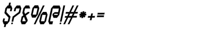 Modality Antiqua Oblique Font OTHER CHARS