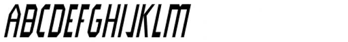 Modality Antiqua Oblique Font UPPERCASE