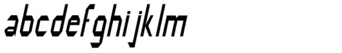 Modality Antiqua Oblique Font LOWERCASE
