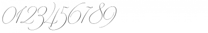 Model Standard Three Font OTHER CHARS