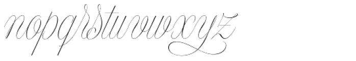 Model Standard Three Font LOWERCASE