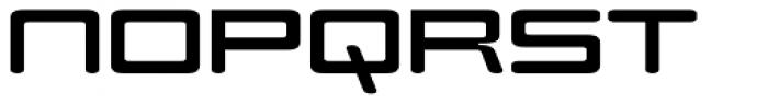 Modell II Font UPPERCASE