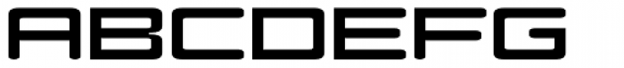 Modell II Font LOWERCASE