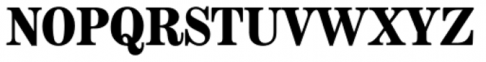Modern Extended EF Bold Font UPPERCASE