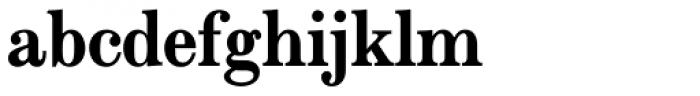 Modern Extended EF Bold Font LOWERCASE