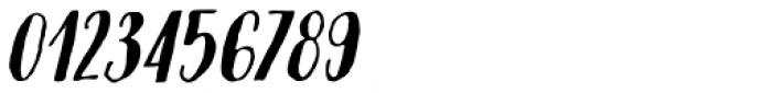 Modern Love Caps Slanted Font OTHER CHARS