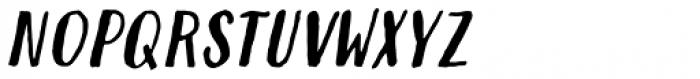 Modern Love Caps Slanted Font LOWERCASE