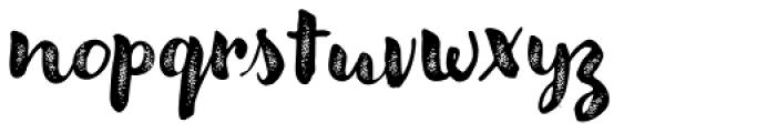 Modern Love Grunge Font LOWERCASE