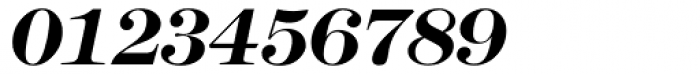 Modern No. 216 Bold Italic Font OTHER CHARS