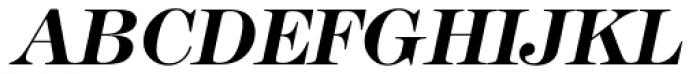 Modern No. 216 Bold Italic Font UPPERCASE