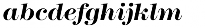 Modern No. 216 Bold Italic Font LOWERCASE
