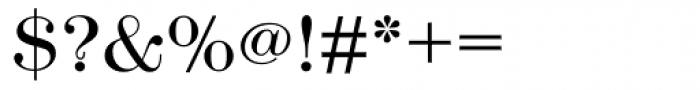 Modern No. 216 Light Font OTHER CHARS