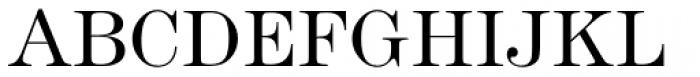 Modern No. 216 Light Font UPPERCASE