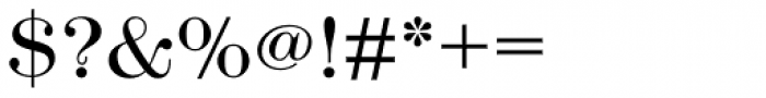 Modern No. 216 Std Light Font OTHER CHARS