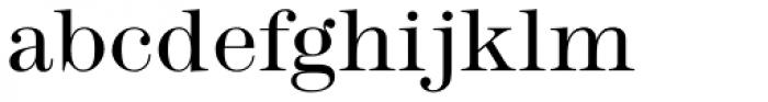 Modern No. 216 Std Light Font LOWERCASE