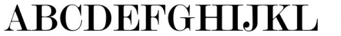 Modern Twenty Font UPPERCASE