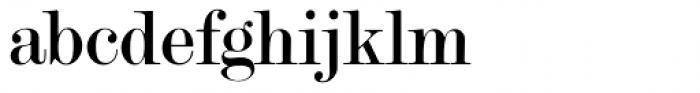 Modern Twenty Font LOWERCASE