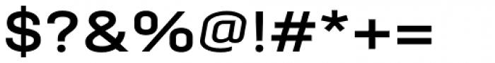 Moderna Bold Font OTHER CHARS