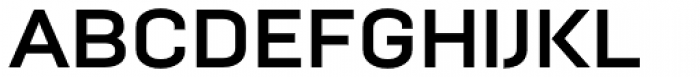 Moderna Bold Font UPPERCASE