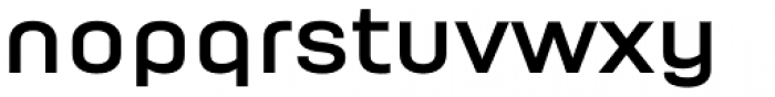 Moderna Bold Font LOWERCASE