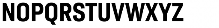 Moderna Sans Cnd Bold Font UPPERCASE