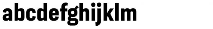 Moderna Sans Cnd Bold Font LOWERCASE