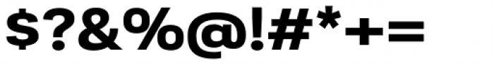 Moderna Sans Ext Bold Font OTHER CHARS
