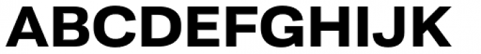Moderna Sans Ext Bold Font UPPERCASE