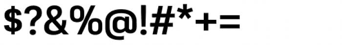 Moderna Sans Medium Font OTHER CHARS