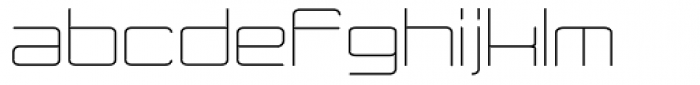 Modernist Font LOWERCASE