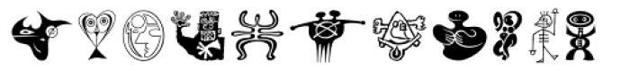 Moderns Std Pi Font UPPERCASE