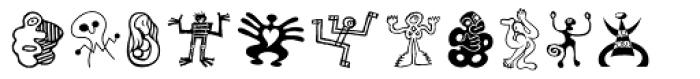 Moderns Std Pi Font LOWERCASE