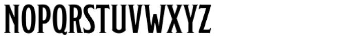 Modesto Lite Condensed Font UPPERCASE